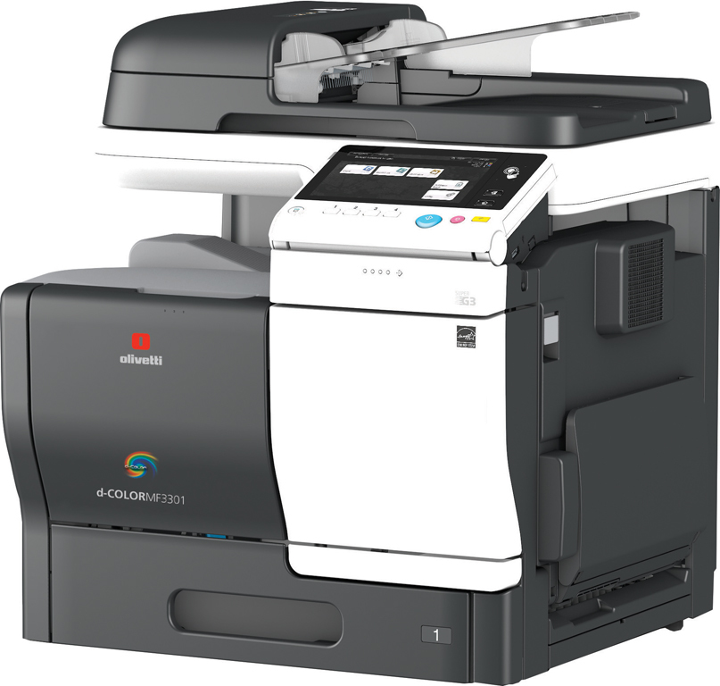 Olivetti d-Color MF3800 Colour A4 Photocopier
